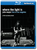 John Mayer - Where The Lights is (Live In Los Angeles)  (Blu-ray,блю-рей)