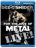 Dee Snider: For The Love Of Metal - Live! (Blu-ray,блю-рей)