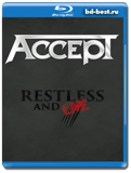 Accept - Restless And Live  (Blu-ray,блю-рей)