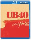 UB40: Live At Montreux (Blu-ray, блю-рей)
