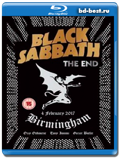 Black Sabbath - The End (Live in Birmingham) (Blu-ray,блю-рей)