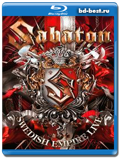 Sabaton - Swedish Empire Live  (Blu-ray,блю-рей)   2 диска