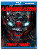 Annihilator - Triple Threat (Blu-ray,блю-рей)