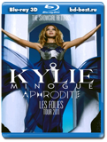 Kylie Minogue: Aphrodite Les Folies - Live in London 3D (Blu-ray, блю-рей)