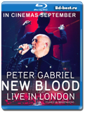 Peter Gabriel: New Blood - Live in London 3D (Blu-ray, блю-рей)
