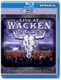 VA - Live at Wacken 2013 (Blu-ray, блю-рей) 3 диска