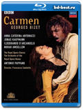 Bizet carmen royal opera house covent carden pappano (Blu-ray, блю-рей)