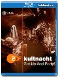 ZDF HD - Die ZDF-Kultnacht Get Up And Party! (2010) (Blu-ray,блю-рей)